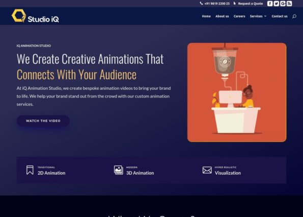 IQ Animation Studio on Divi Gallery