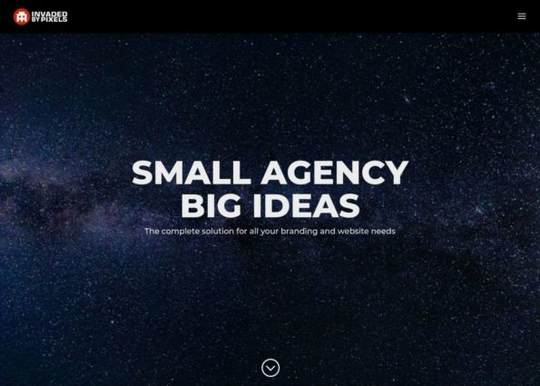 Invaded by Pixels on Divi Gallery