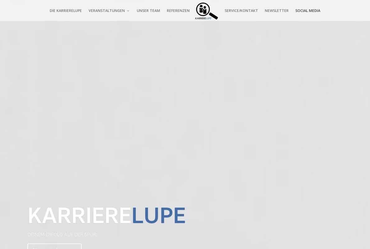 Karrierelupe Divi Theme Example