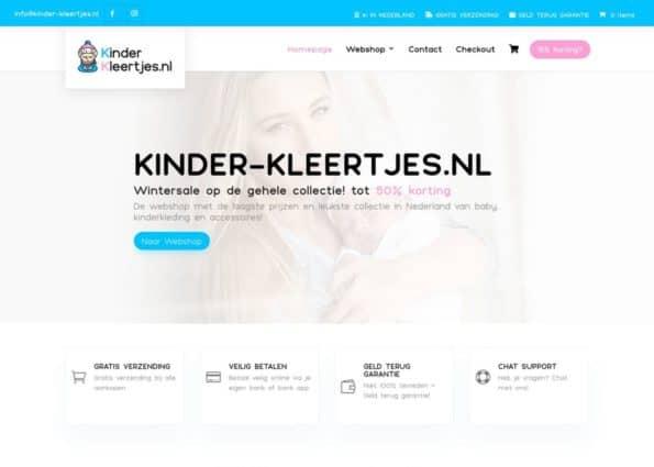 Kinder-Kleertjes.nl on Divi Gallery