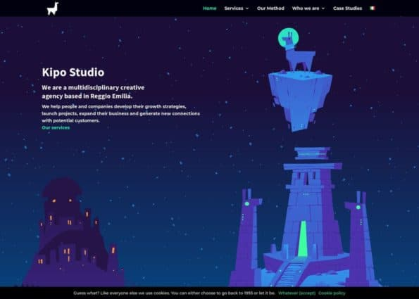 Kipo Studio Creative Agency on Divi Gallery