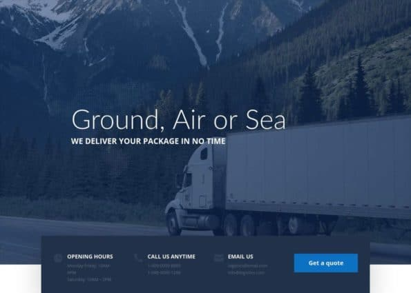Logistic on Divi Gallery