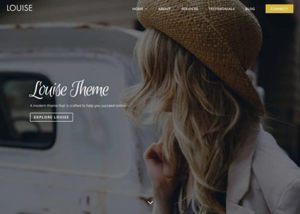 Louise Theme on Divi Gallery
