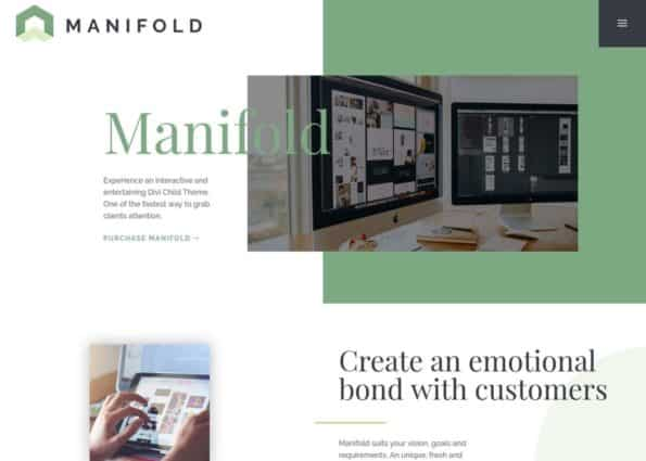 Manifold Theme on Divi Gallery