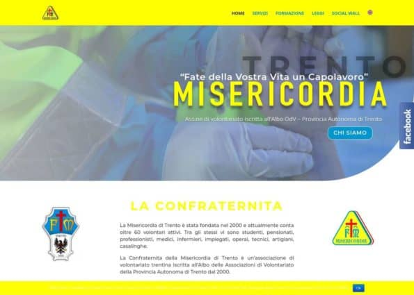 Misericordia Trento on Divi Gallery