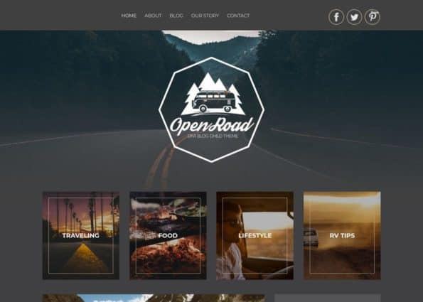 Open Road Theme on Divi Gallery