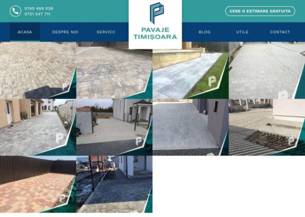 Paving Company on Divi Gallery