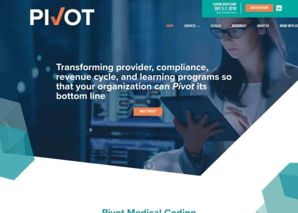 Pivot Medical Coding on Divi Gallery