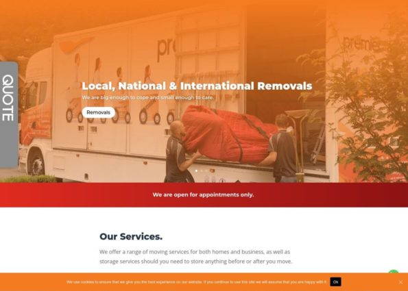 Premier Movers on Divi Gallery