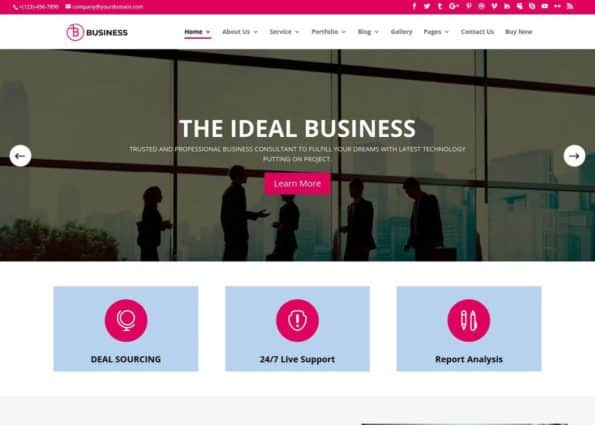 Professional Business on Divi Gallery
