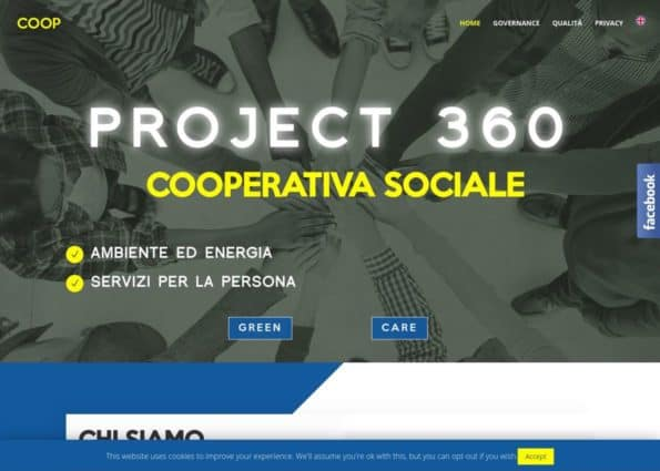 Project 360 on Divi Gallery