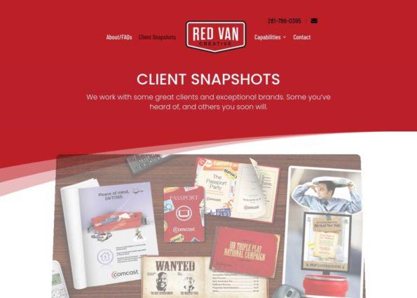Red Van Creative on Divi Gallery