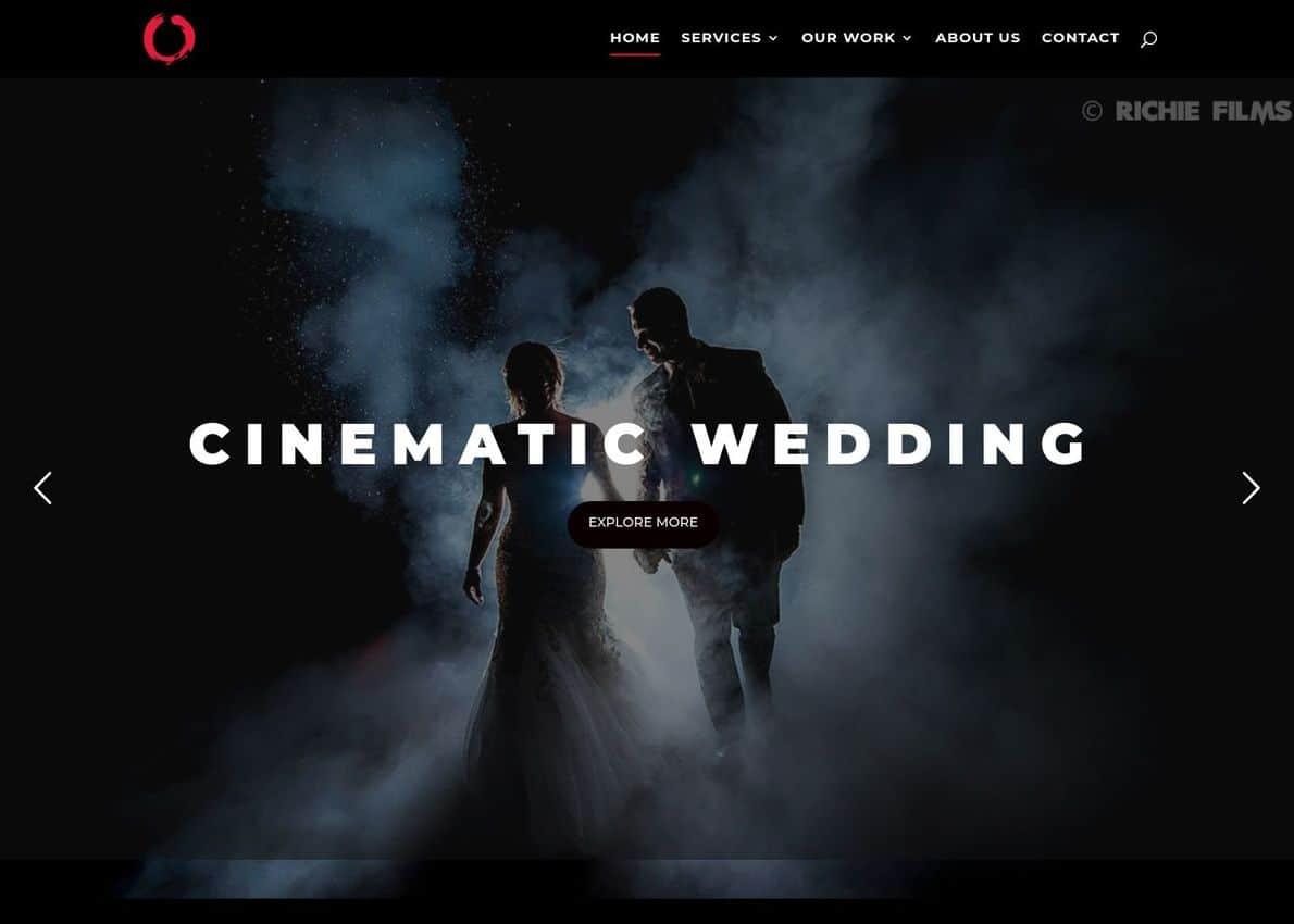 Richie Films Divi Theme Example