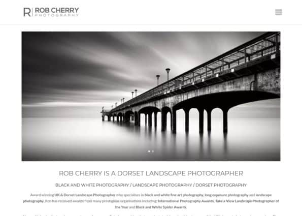 Rob Cherry Photography on Divi Gallery