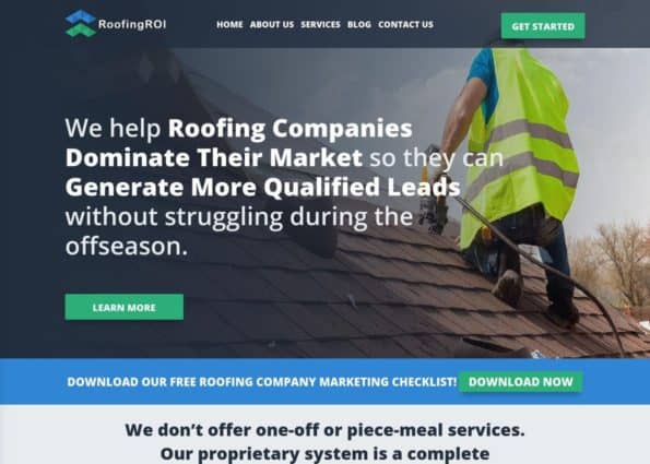 RoofingROI on Divi Gallery