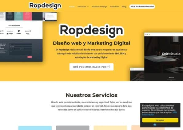 Ropdesign on Divi Gallery