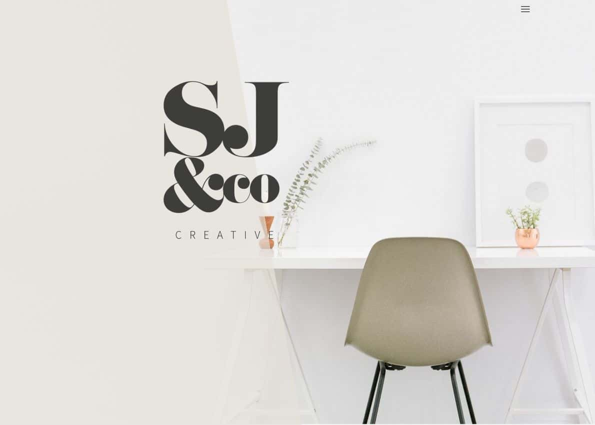 SJ&Co Creative Divi Theme Example