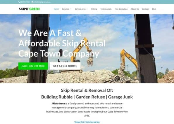 SkipIt Green on Divi Gallery