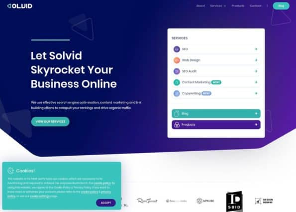 Solvid Digital on Divi Gallery