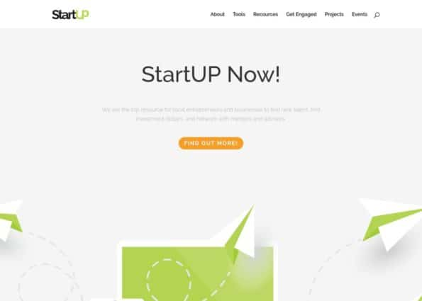 Startup on Divi Gallery