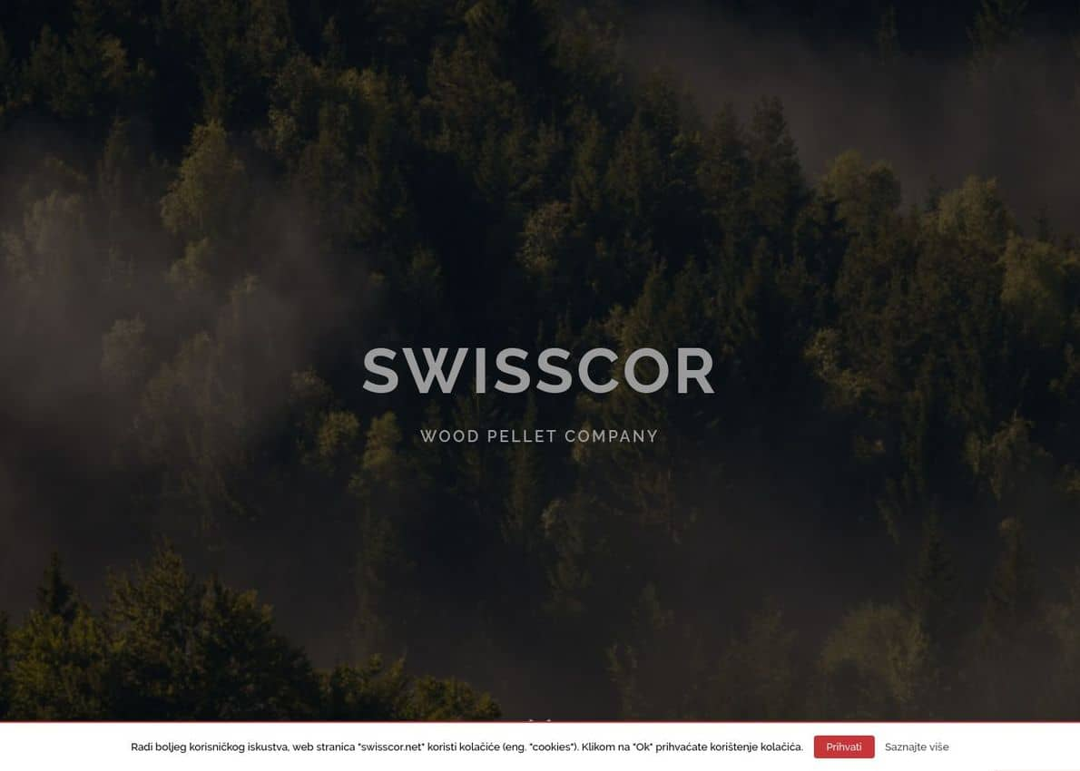 Swisscor Divi Theme Example