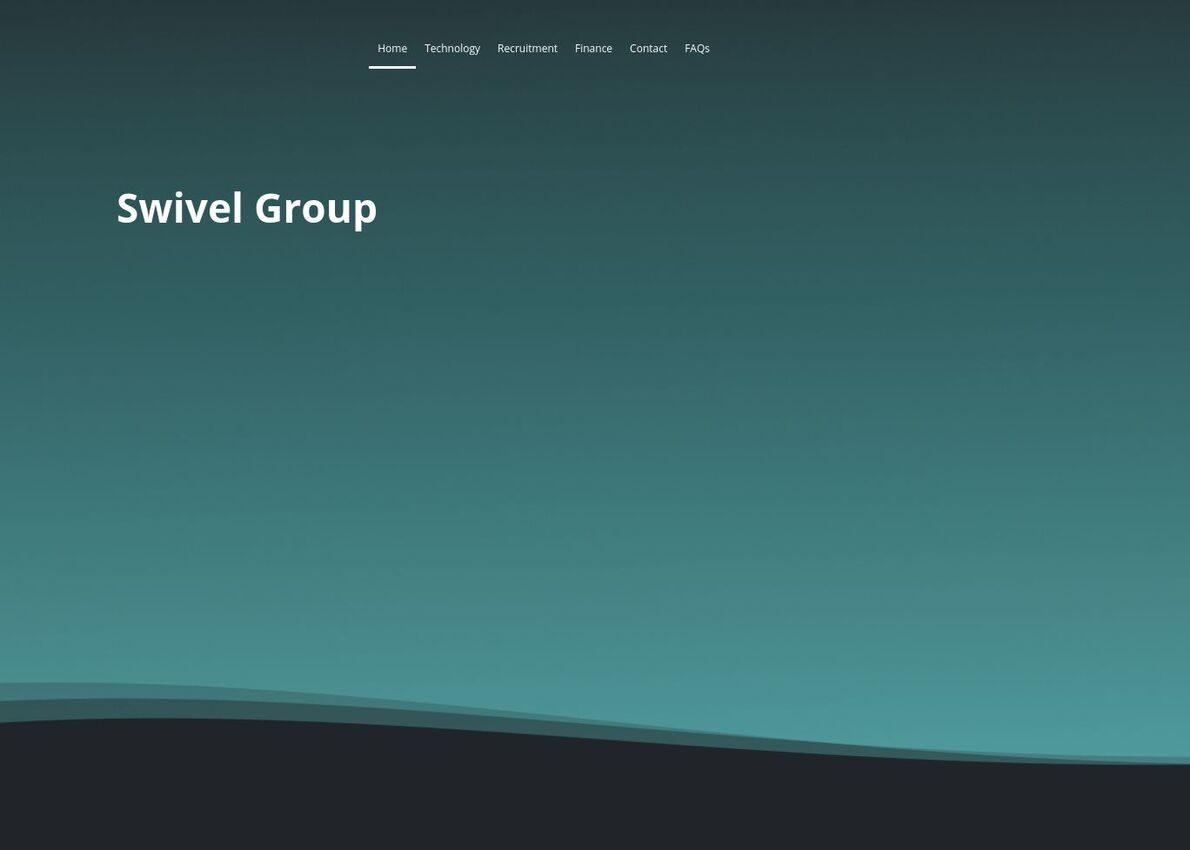 Swivel Group Divi Theme Example