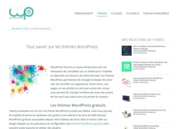 Thèmes WordPress on Divi Gallery