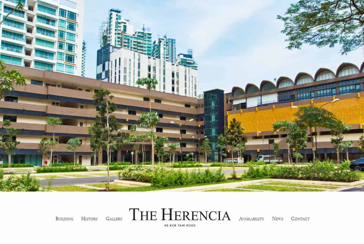 The Herencia Divi Theme Example