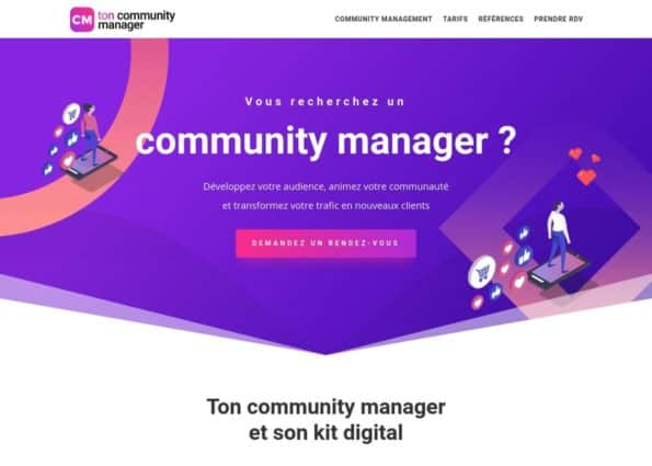 Ton Community Manager on Divi Gallery