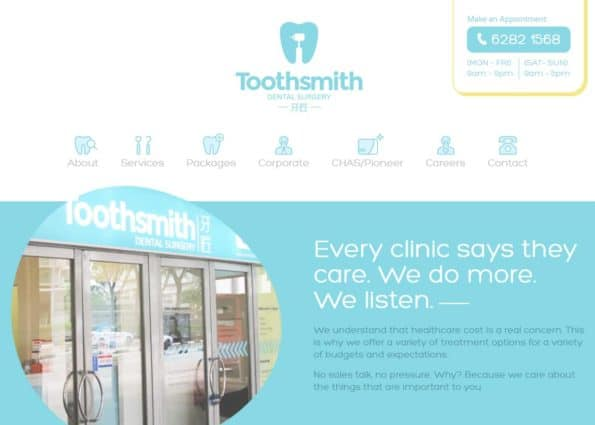 Toothsmith on Divi Gallery