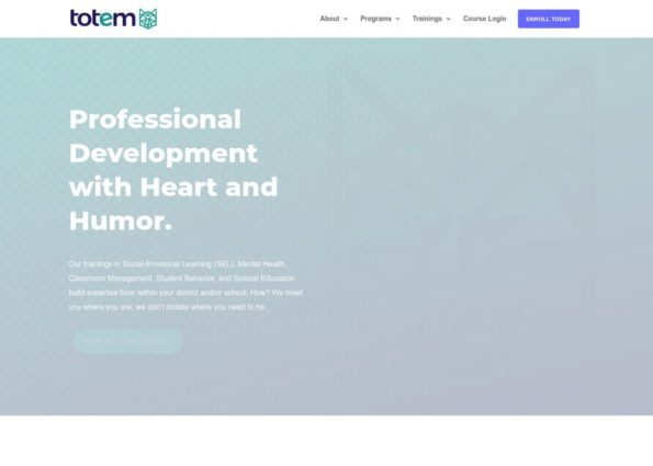 Totem PD on Divi Gallery