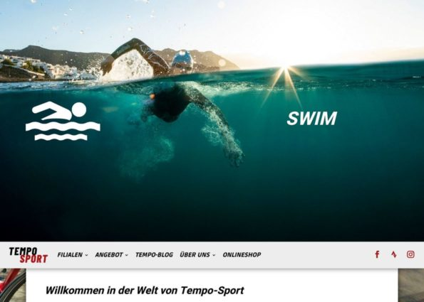 Triathlon Store on Divi Gallery