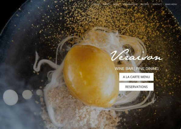 Veraison Restaurant on Divi Gallery