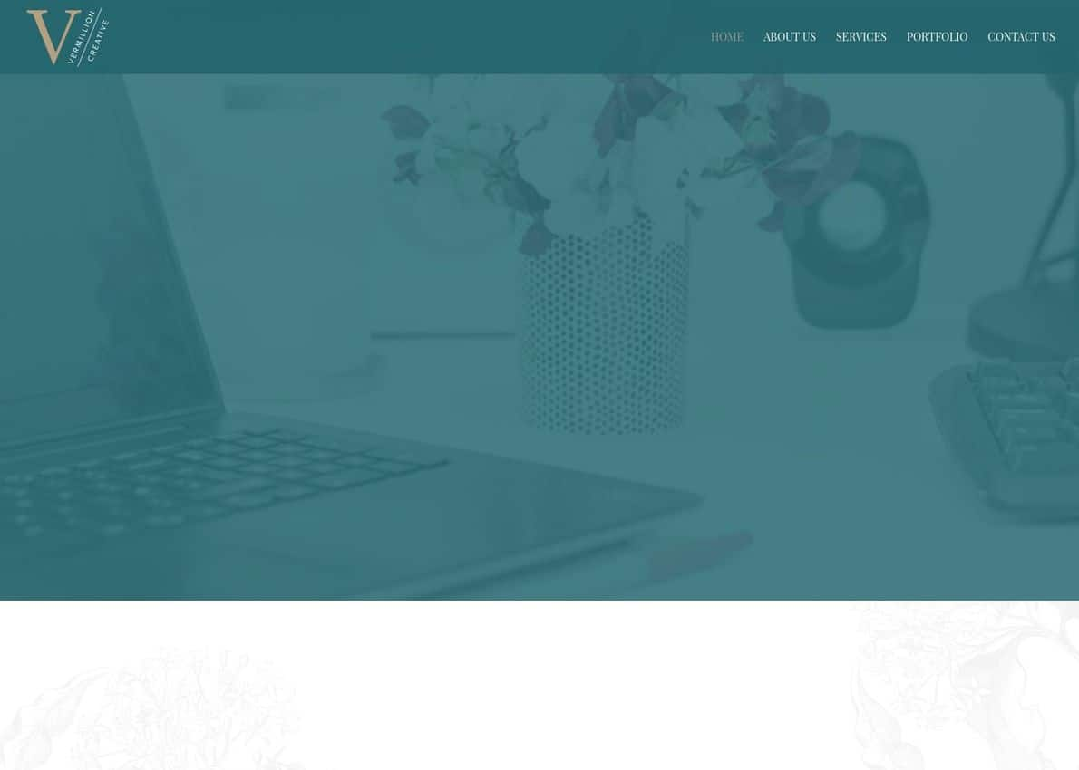 Vermillion Creative Divi Theme Example