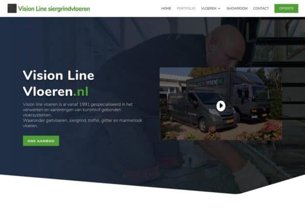 Visionlinevloeren on Divi Gallery