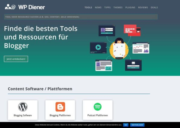 WP Diener on Divi Gallery