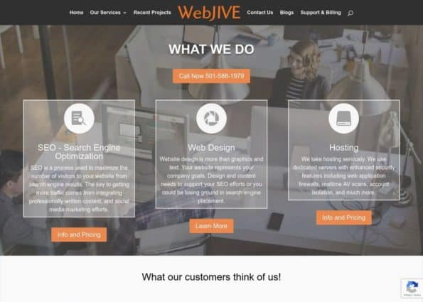 WebJIVE on Divi Gallery