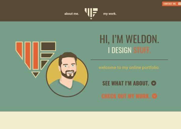 Weldon Fultz Online Portfolio on Divi Gallery