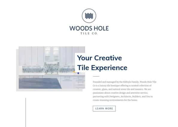 Woods Hole Tile Company on Divi Gallery
