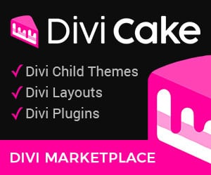 Special thanks to Divi Cake for the support.