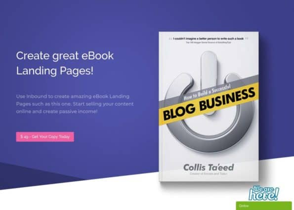 eBook Divi Layout on Divi Gallery