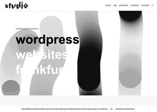 wordpress websites frankfurt on Divi Gallery